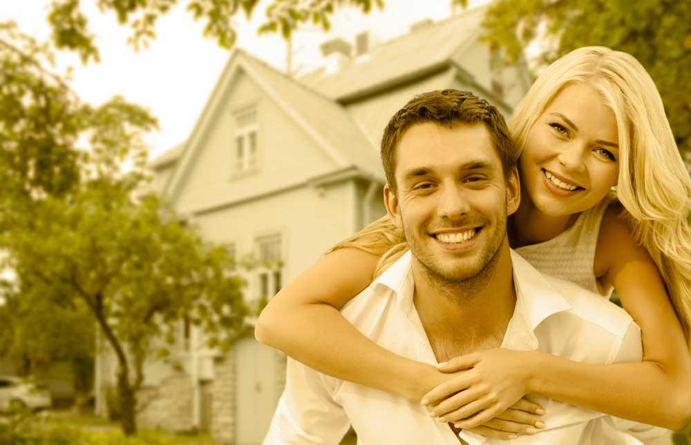 online house values couple