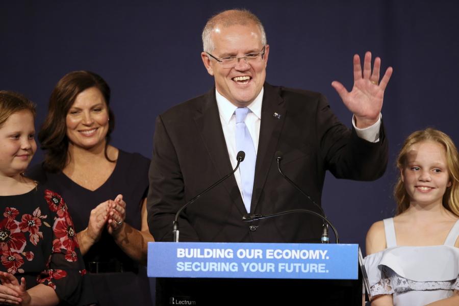 Scott Morrison Election